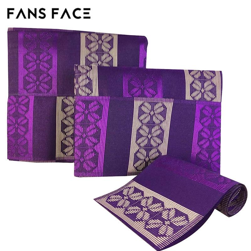 FANS FACE African Engagement / Wedding Purple Gele Headtie Nigeria - Traditionele kleding