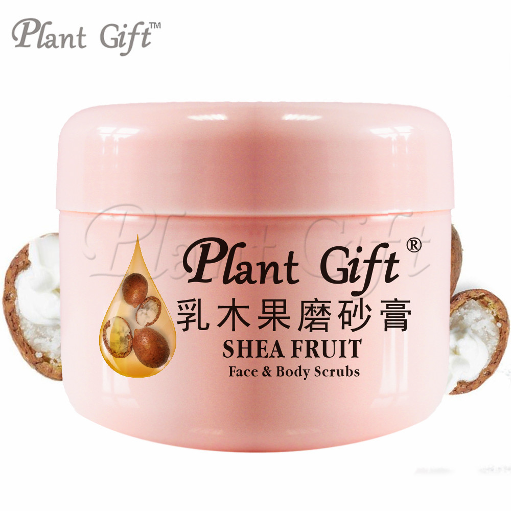 SHEA FRUIT Face & Body Scrubs 100G Remove the old horny Smooth and delicate so that the skin becomes a net through the water.