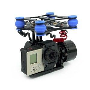 Image 2 - RTF 2 محور فرش كاميرا Gimbal ث/2208 المحركات BGC لوحة تحكم دعم SJ4000 Gopro 3 4 كاميرا ل DJI فانتوم QR X350