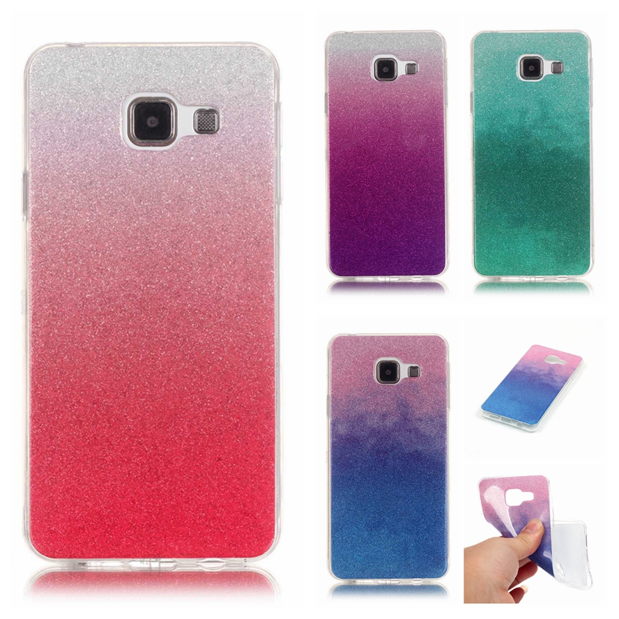 buy for coque samsung galaxy a3 2016 case silicon glitter bling phone case. Black Bedroom Furniture Sets. Home Design Ideas