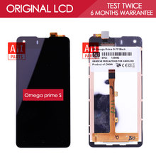 100% Original TFT 1280*720 4.7 inch Display For Highscreen Omega Prime S LCD Touch Screen Digitizer Assembly FPC9231T
