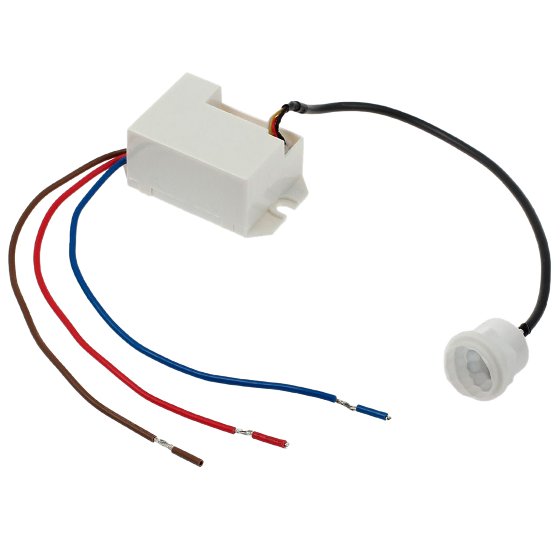 купить 360 Degree Recessed PIR Sensor Detector Ceiling Occupancy Motion Light Switch по цене 336.68 рублей