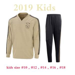 2019 kids ajax tracksuit 2018 ajax home away training suit boys child with  pants set e246741fa