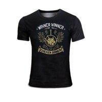 2018 New Hotest Game Tshirt Player Unknown S Battlegroundst T Shirts PUBG Winner Winner Chicken Dinner
