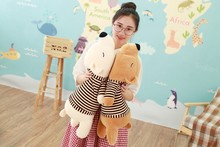 WYZHY Down Cotton Soft Bear Plush Toy Doll Pillow Send Friends and Children Gifts 30CM