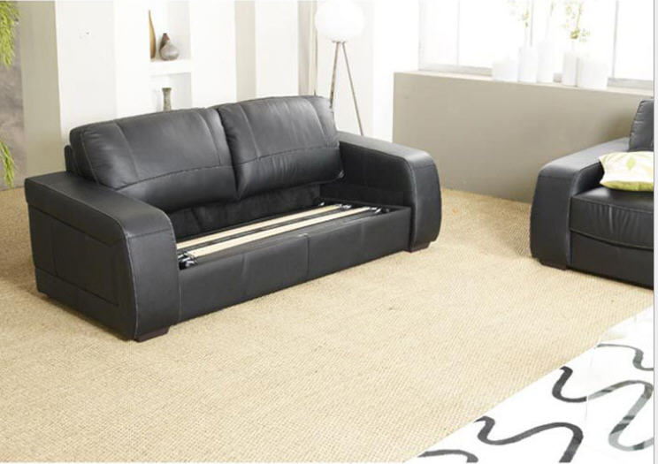 living room sofa bed minimalist modern sofa sofabed real genuine cow leather sectional sofa muebles de sala moveis para casa