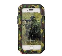 Waterproof Shockproof Aluminum Gorilla Metal Cover Case For Apple IPhone Models 4 4s 5 5s SE