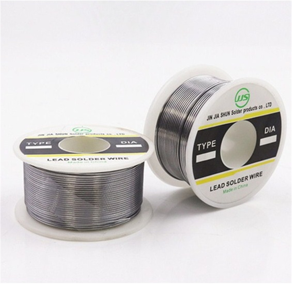 NEW Welding Iron Wire Reel 100g/3.5oz FLUX 2.0% 1mm 30/70 45FT Tin Lead Line Rosin Core Flux Solder Soldering Wholesale