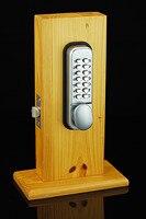 Intelligent Mechanical Combination Lock Keyless Digital Deadbolt Doors Coded Lock With Handle Not File Folder Accessories