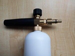 Image 5 - car washer snow bubble foam gun with Lavor Elitech Champion Sterwins connector 100% copper washer foam generator foam sprayer