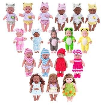 Nouveau-né noir blanc Reborn poupée bébé Simulation doux vinyle enfants poupées réalistes filles semblant jouer jouets pour cadeau d'anniversaire