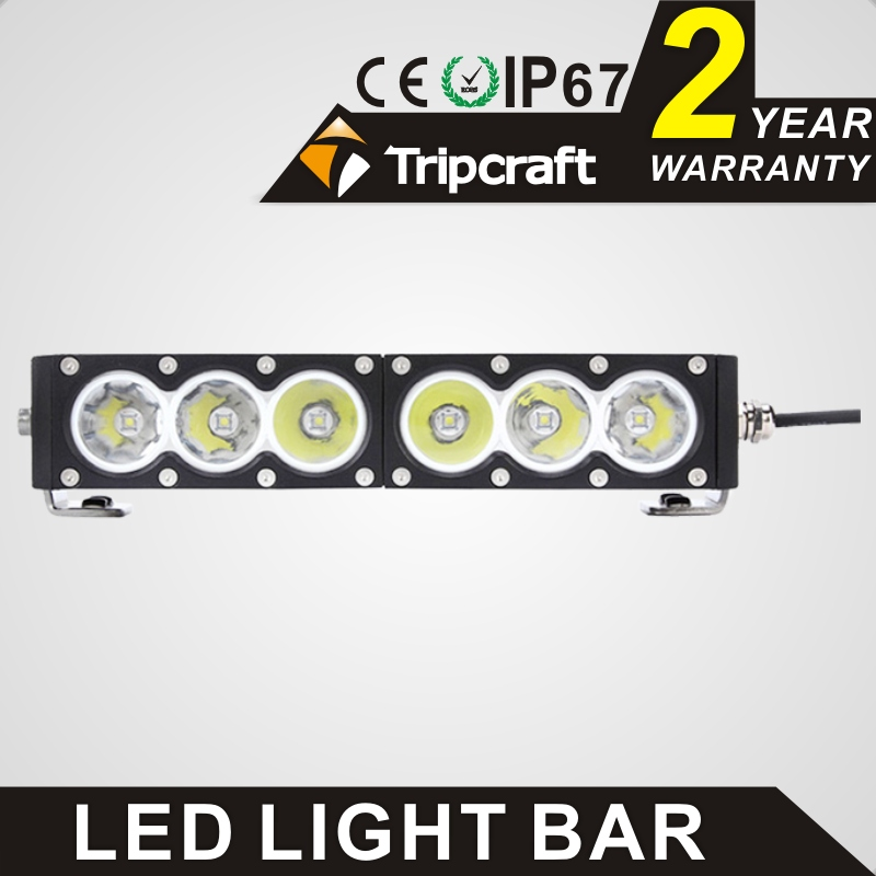 TRIPCRAFT 60w single row led light bar 11.3inch high power driving light bar 5100lm spot flood combo beam for Tractor ATV 12v 24 видеоигра бука saints row iv re elected