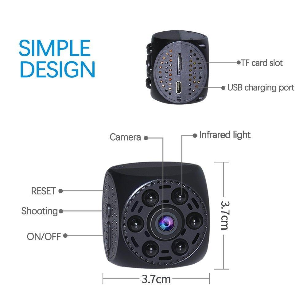 Image 2 - Vandlion Mini Camera Video Cam Voice Recorder Night Vision  Recording Mini Camcorder Digital Recorder A10Mini Camcorders   -