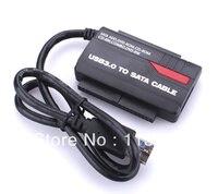 50pcs Lots USB 3 0 To SATA IDE HDD Adapter DVD ROM CD ROM CD RM