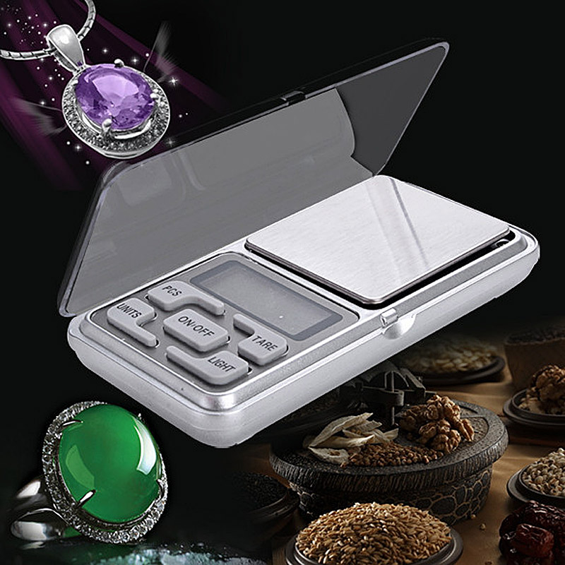 Mini Digital Scale Weight 500g Precision 0.1g Electronic Pocket Weight Balance Weight Jewelry Scales BS 100g 0 1g lab balance pallet balance plate rack scales mechanical scales students scales for pharmaceuticals with weight tweezer