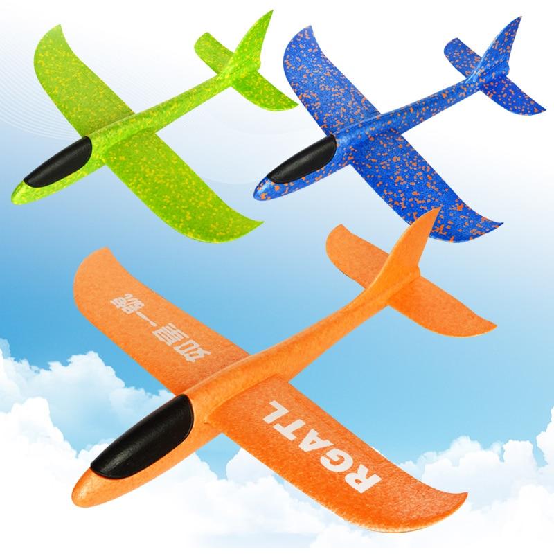 31cm bricolage main jet vol planeur avions mousse plastique avion modèle partie sac remplisseurs vol planeur avion jouets pour enfants