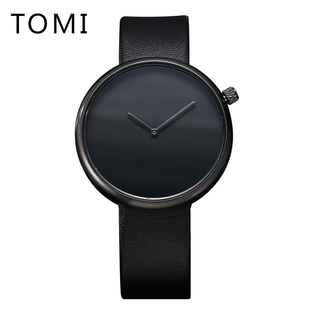 Tomi Famous Brand Fashion Casual Watches Men Luxury Business Leather Watchband Quartz Outside Sport For Male Dress Clock T006 xinge top brand luxury leather strap military watches male sport clock business 2017 quartz men fashion wrist watches xg1080
