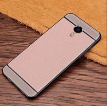 Sprawa dla Meizu m3 Uwaga 5 5 inch luksusowa skórzana tekstura miękkie TPU CoverFor Meizu m3 Uwaga M681H M681M M681Q L381H L681H tanie tanio Gorące SLEVE Walizka dopasowana 100 pasuje do Meizu m3 Note Ochrona przed wysoką wytrzymałoodpornością odporna na brud anty-Knock