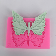 Butterfly mold silicone manual baking tool mould DIY chocolate sugarcraft cake decoration molds