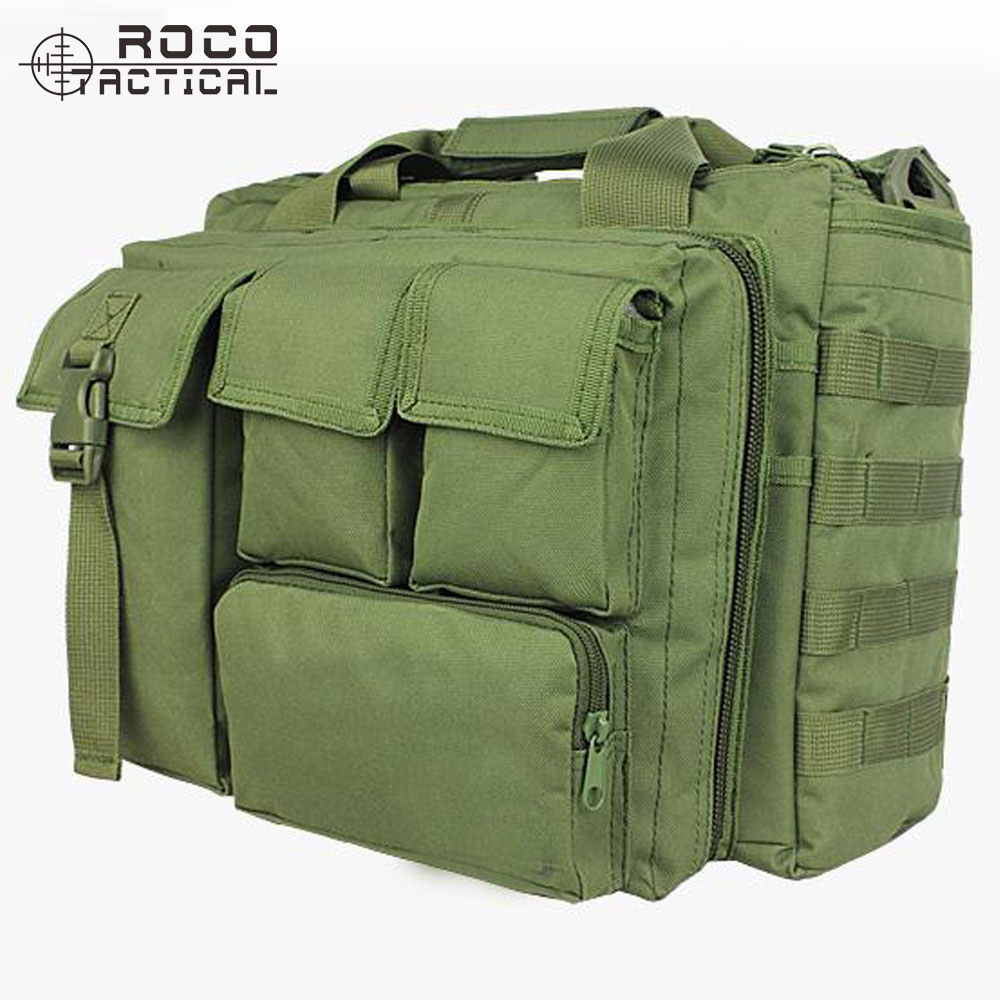 ROCOTACTICAL Military Special Operations Forces Laptop Bag Military Tactical Dispatch Bag Army Military Laptop Shoulder Bag henry brook special forces