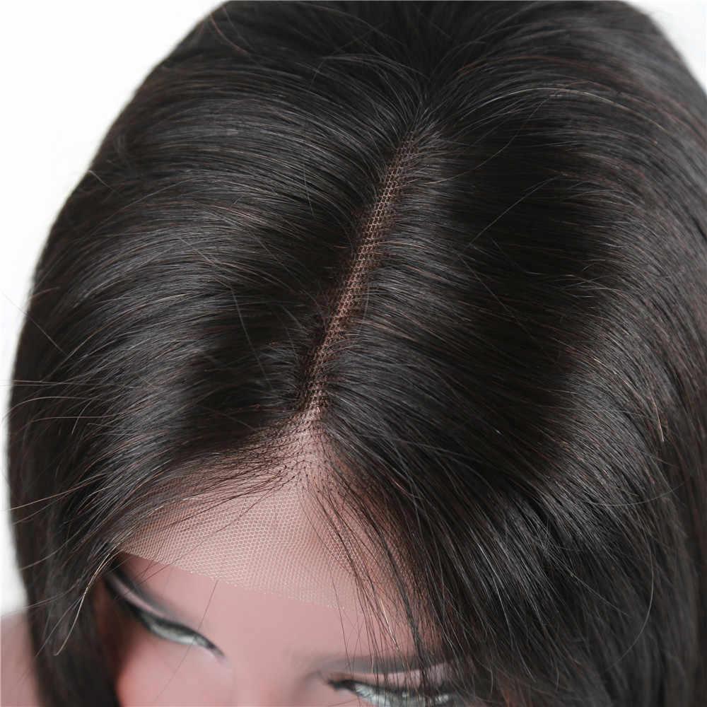 """Alibd фронтальный парик из бразильских человеческих волос, причёска Боб с прямыми волосами, парик из натуральных волос remy, парики для черных женщин 6-16"""""""