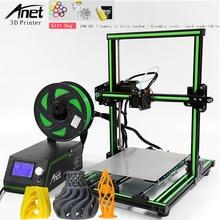 Anet E10 Aluminum Frame Dual language 3D Printer DIY Kit Semi Assembly Large Printing Size 3D Printer Large Sise 220*270*300MM недорого