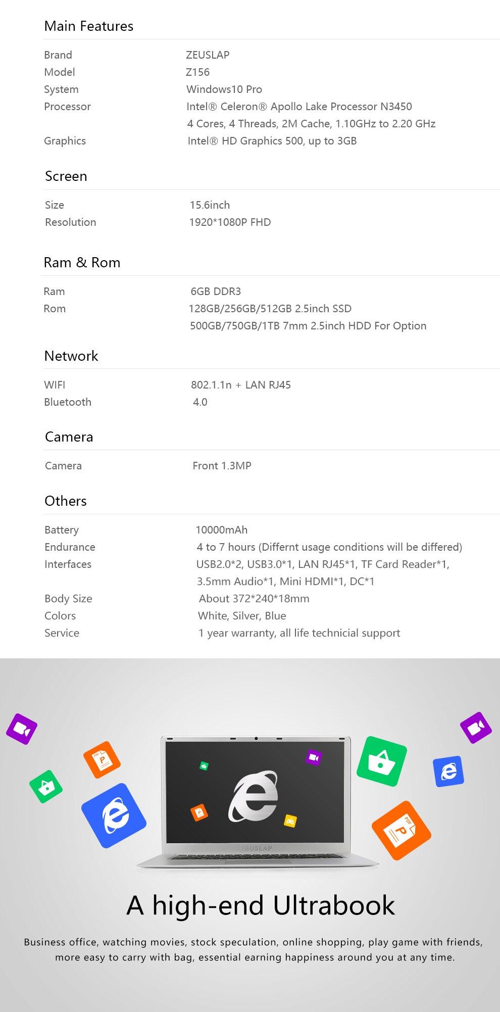 Z156 6+HDD-8