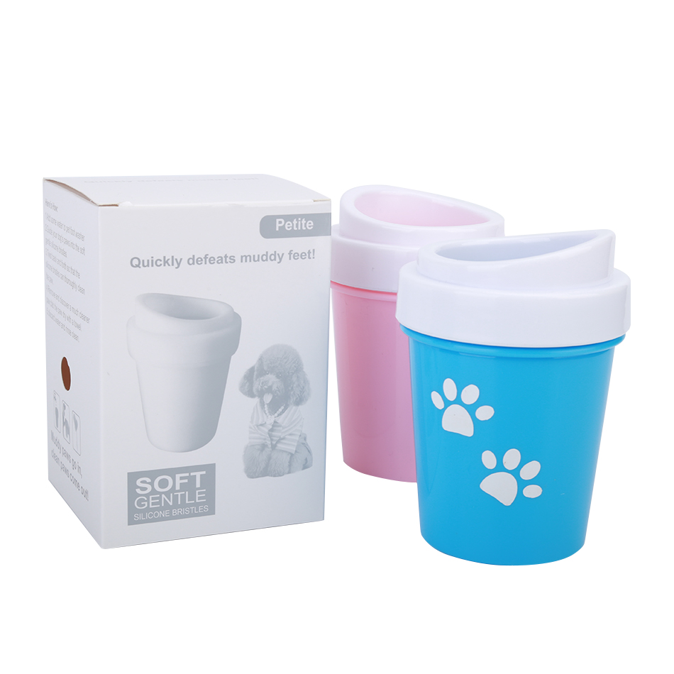 HTB1BtaxaUvrK1RjSspcq6zzSXXal - Dirty Dog paw cleaner Soft Silicone Combs Portable Pet Foot Washer Cup