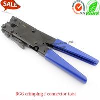 High Quality RG6 f connector crimping cone tool RG6 coaxial cable f type connector crimping tool for RG6 cone shape Crimp f plug