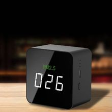 Mini PM2.5 Detector Air Quality Tester Monitor Meter Rechargeable AIR-06 Black  2019 New