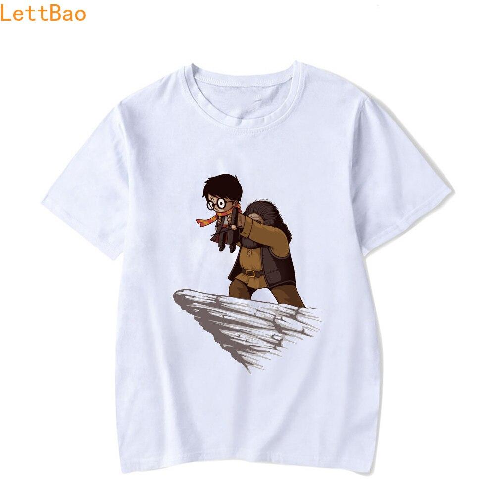Star Wars T Shirt Men/Women Harry Funny Potter T-shirt New Novelty Design White Cotton Short Sleeve O-neck Plus Size Summer Tops