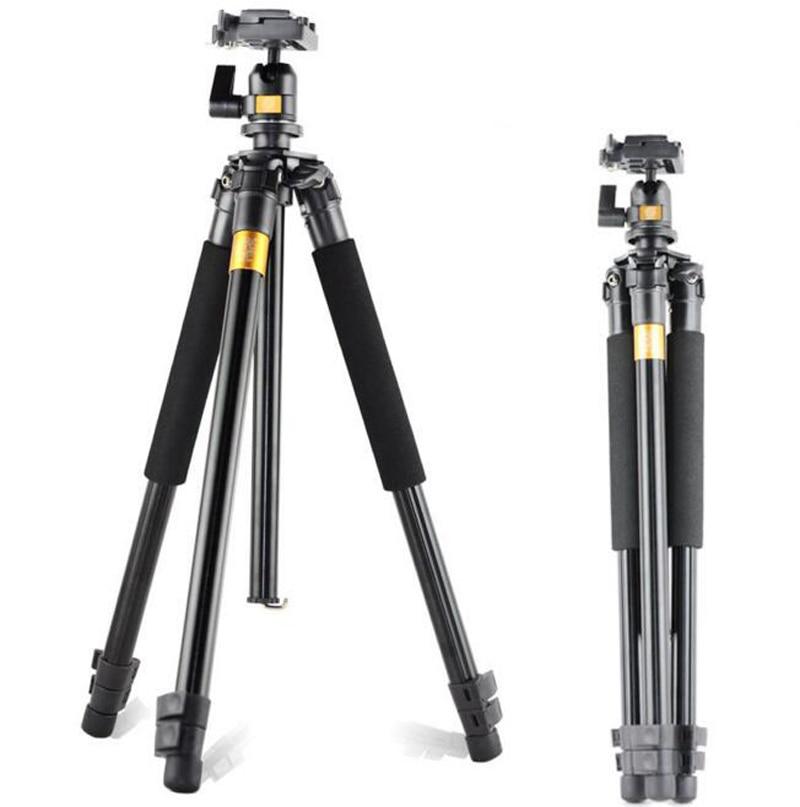 QZSD Q308 Professional Photographic Portable Mini Tripod For Canon Camera With Aluminum Alloy Tripods For Gopro Accessories free shipping qzsd q999 portable tripod