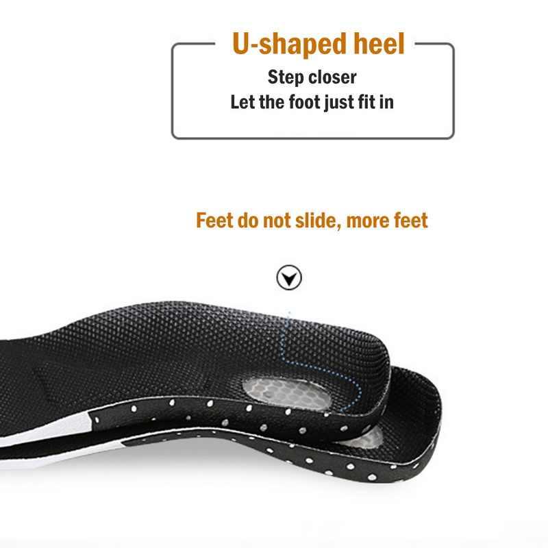 Vertvie Unisex ซิลิโคนเจลสำหรับฟุตผู้หญิงรองเท้า Orthopedic Pad นวด Shock Absorption Arch สนับสนุน