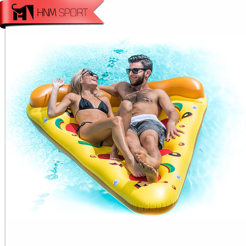 ФОТО 71Inch 1.8M Summer Novelty Gaint Pizza Inflatable Floating Row Swimming Pool Floating Water Rafts Air Bed Lounger Toys