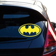 Batman Decal Sticker for Car Window, Laptop, Motorcycle, Walls, Mirror and More Car Sticker Car Door Protector Car Stickers borderlands who decal sticker for car window laptop motorcycle walls mirror and more car sticker car door protector