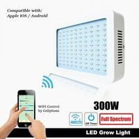 300W WIFI control mobile phone APP remote control timer switch LED plant growth light vegetable light