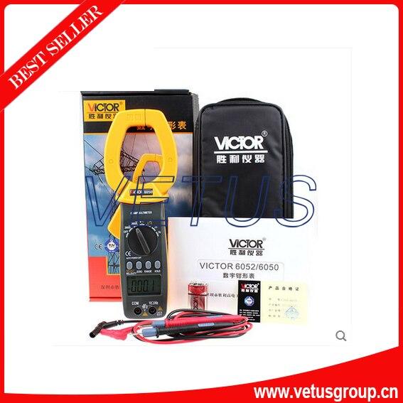 VICTOR 6050 digital clamp meter AC-DC2000A victor 6056d digital clamp meter