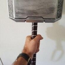 Thors молоток 1:1 ручной работы молотки Мстители реквизит Реплика смолы 1 шт