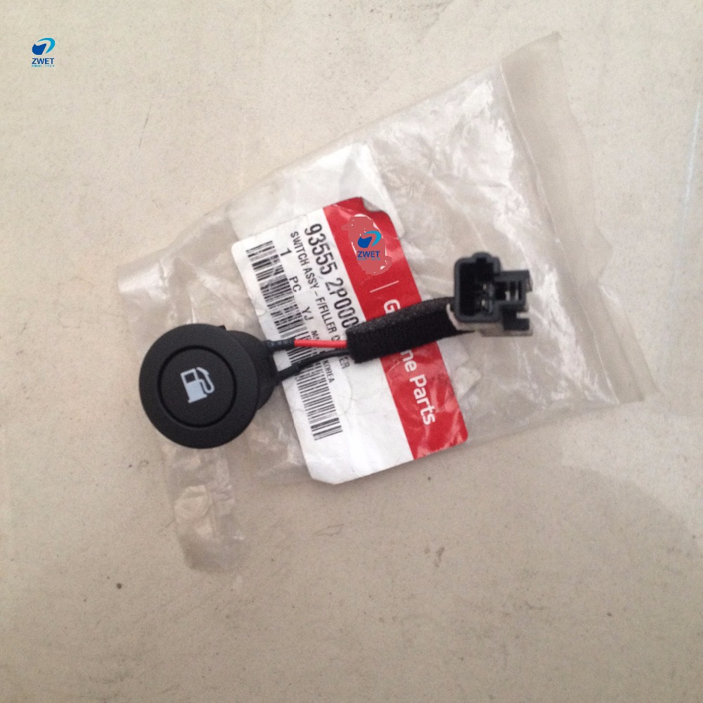 ZWET Car For Sorento Rear Trunk Lid Fuel Filler Switch Door Release Open Switch for 93555