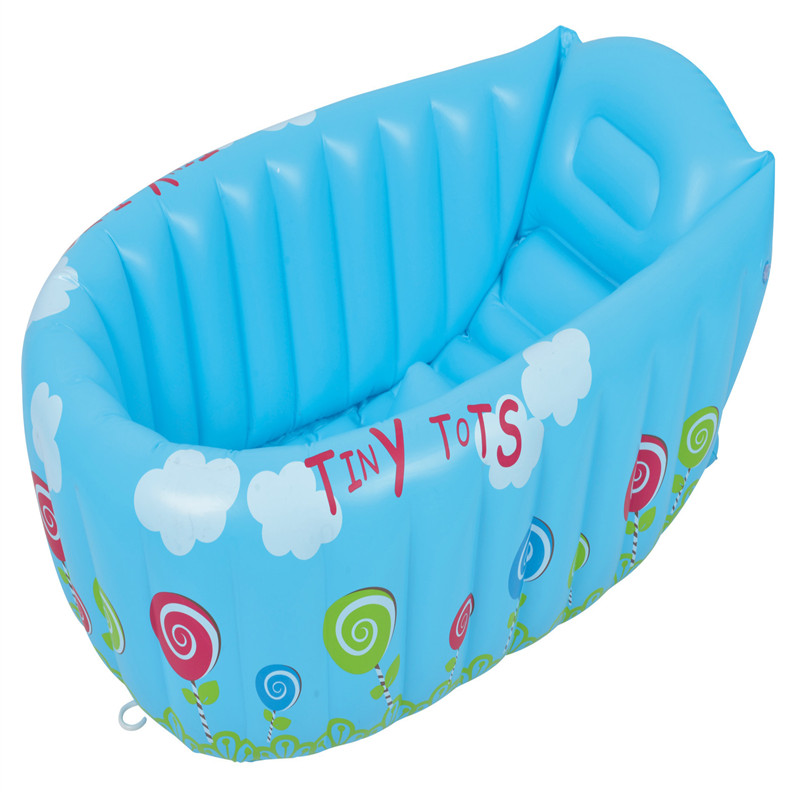 Sale 1 piece New Inflatable Baby Tub/Soft Inflatable Baby Bathtub ...