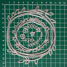 Wreath Flower Metal Cutting Dies