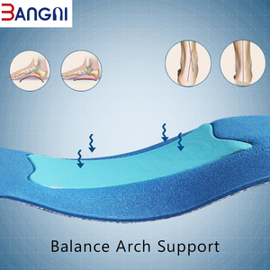 Image 3 - 3ANGNI Orthotic Arch Support Mild Flat Feet Memory Foam 3/4 Insoles Insert Soft Message For Man Woman Shoes