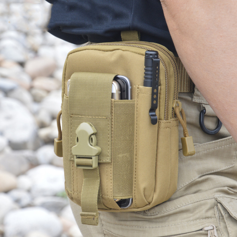 Waist Bag Molle Tactical Pack Bag Waterproof Travel Belt Phone Pouch Army SWAT Military Camouflage Waist Bags Worker Accessories