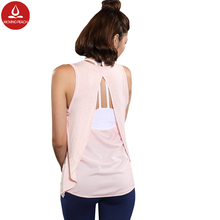 Sexy backless tank top Summer Woman Sleeveless Tights Fitness Yoga Shirts Women Vests Blouse Sports fitness clothing for women
