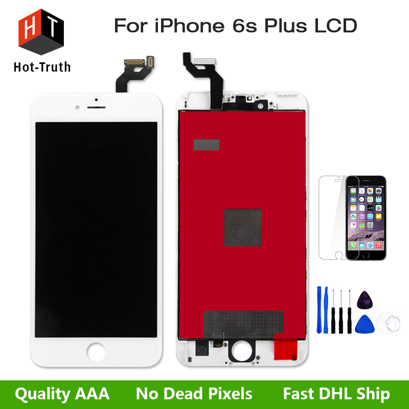 Great AAA+ Quality LCD Display For iPhone 6s Plus 5.5inch Touch Screen Digitizer Assembly Replacement+Free Tool&Screen Protector grade a replacement lcd glass screen ecran touch display digitizer assembly for oppo r9 plus 6 0 inch white with free tool kit
