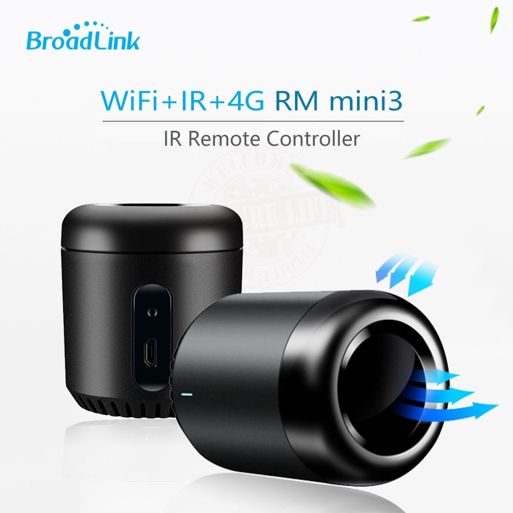 Broadlink RM Mini 3 Black Bean Smart Home Automation Universal Wifi Switch Remote WiFi/IR Controller Domotica Timer