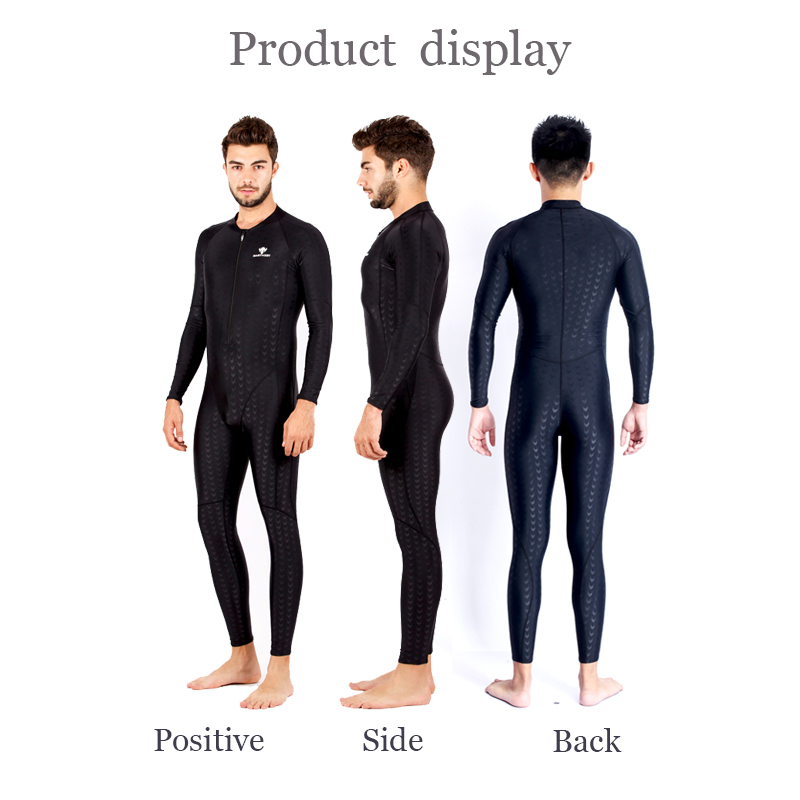 9becaee1e4 HXBY Black Full Swimsuit Men Competition Racing Plus Size Swimwear Women  One Piece Women s Swimsuits Swimming. sku  32681794060
