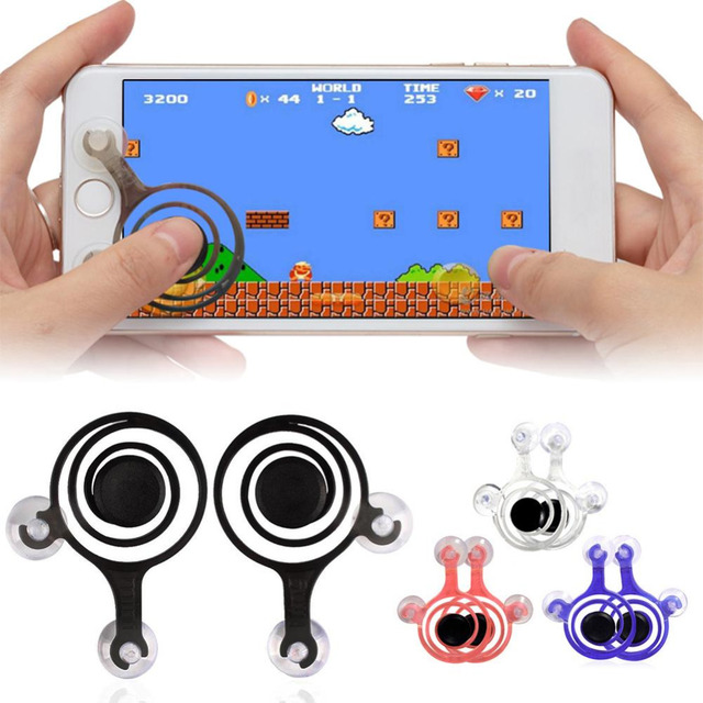 2pcs/Set Smartphone Mini Joysticks Zero Any Touch Screen Joystick For Phone tablet Arcade Games NEW Twin Pack