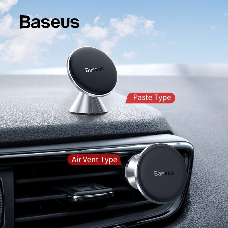 Image 2 - Soporte magnético de teléfono de coche Baseus para iPhone 11 soporte de ventilación de aire para teléfono móvil para Huawei Xiaomi soporte de coche-in Soportes y atriles de teléfono móvil from Teléfonos celulares y telecomunicaciones on AliExpress