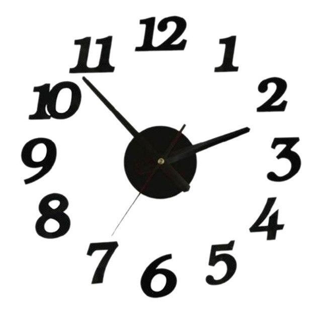 3D creativamente Romae, reloj de pared Digital de etiqueta reloj diseño  moderno reloj de Relojes de pared reloj de cocina sala de casa decoración